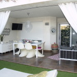 Stylish House in Moraira, 2 Communal Pools and Tennis Courts.