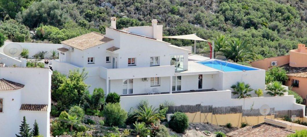 Large Luxury Modern Villa El Portet Moraira